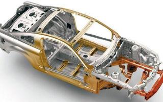 Лонжерон — основной силовой элемент кузова автомобиля