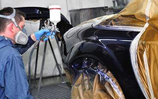 Инструкция по покраске крыла автомобиля своими руками