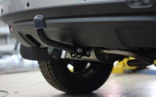 Штрафы за установку и использование фаркопа на легковом автомобиле в 2018 году