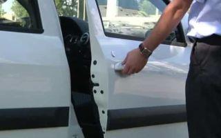 Конструкция и установка доводчика на двери авто