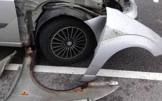 Пошаговая инструкция по замене переднего крыла автомобиля Форд Фокус 2