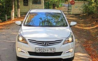 Особенности установки ПТФ, передней и задней фары на Hyundai Solaris