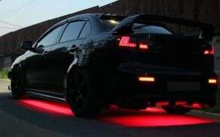 Как сделать подсветку днища автомобиля своими руками
