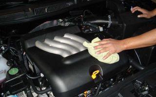 Все тонкости процесса мойки двигателя и моторного отсека автомобиля