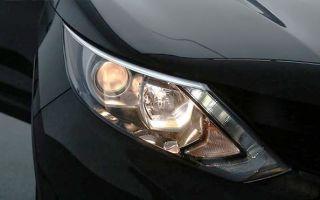 Подробная инструкция о выборе и замене лампы ближнего света в фаре автомобиля