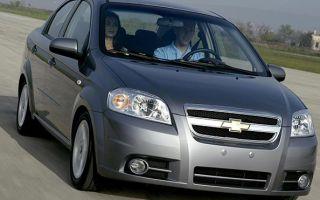 Какие габариты кузова и объем багажника Chevrolet Aveo седан и хэтчбек