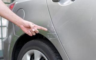 Как убрать различные виды царапин с кузова автомобиля