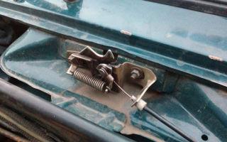Подробная инструкция замены троса капота на ВАЗ