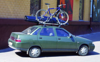 Особенности выбора и установки багажника на крышу ВАЗ 2110-2112