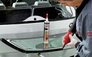 ТОП-5 клеев и герметиков для вклейки и для восстановления автомобильных стекол