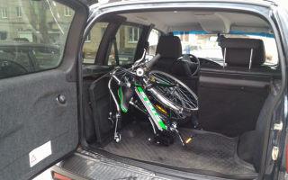 Размеры и особенности багажника Шевроле Нива