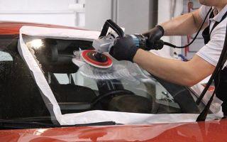 Полезно знать — как правильно убрать царапины на стеклах автомобиля