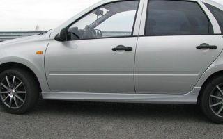 Все способы защиты порогов автомобиля Лада Гранта