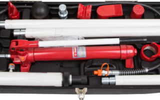 ТОП инструментов для рихтовки кузова автомобиля