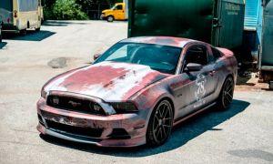 Новый мейнстрим — краска с эффектом ржавчины автомобиля