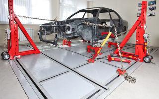Все о стапелях для ремонта кузова автомобиля