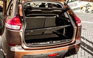 Объем, размеры и другие особенности багажника автомобилей Lada XRAY