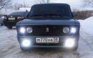 Особенности фар на ВАЗ 2106 и схемы подключения передних и задних фонарей