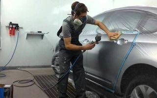 Особенности покраски и полировки двери автомобиля