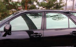 Инструкция по расстонировке автомобиля и удалению клея со стекла