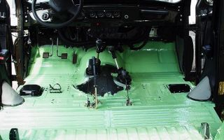 От А до Я: обработка днища автомобиля внутри салона своими руками