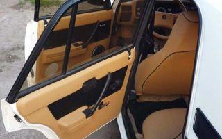 Как правильно выполнить обивку и обшивку дверей на автомобиле ВАЗ 2107