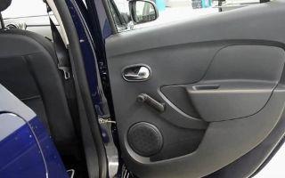 Подробная инструкция по снятию обшивки в дверях Renault Sandero