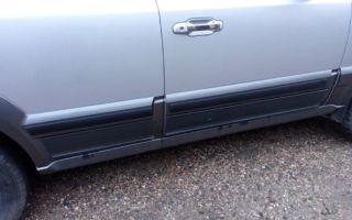 Особенности накладок на двери для ВАЗа из различных материалов