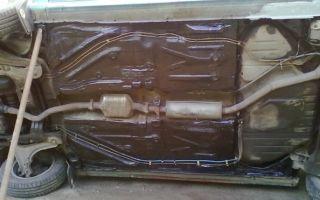 Инструкция по заделке дырки в днище авто без сварки