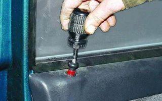 Что делать, если дверь не открывается дверь снаружи и изнутри на ВАЗ 2110