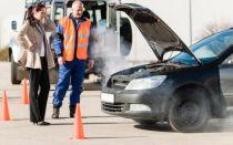 Дым из под капота и запах в салоне автомобиля