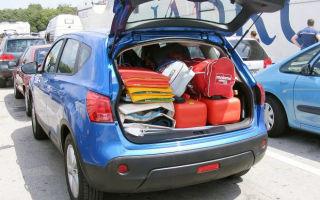 Объем, размеры и особенности багажника Ниссан Кашкай