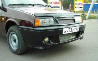 Как произвести замену бампера на ВАЗ 2109 — этапы работ