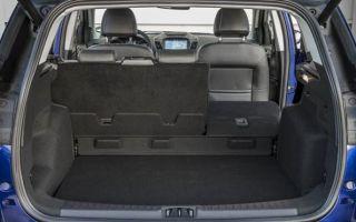 Объем, размеры и другие характеристики багажника Форд Куга