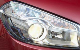 Виды и замена лампы ближнего света на автомобиле Ниссан Кашкай