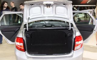 Лада Гранта: объем, размеры и особенности багажного отделения