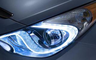 Особенности выбора и замены ламп ближнего света, ПТФ и габаритов на Hyundai Solaris