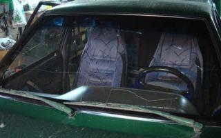 Снятие и замена лобового стекла на ВАЗ 2109