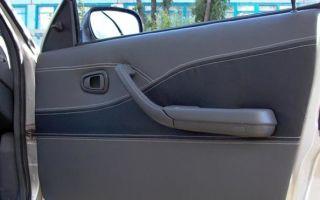 Как разобрать обшивку на передних и задних дверях Daewoo Nexia