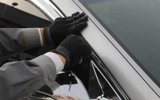 Пошаговая инструкция о том как и чем приклеить ветровик на дверь машины самостоятельно