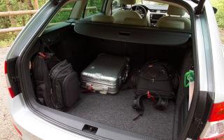 Компактная вместимость: размеры багажника Шкода Октавия