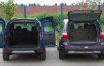 Все о багажнике Лада Ларгус — объем, размеры, особенности