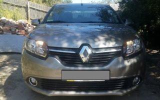 Как легко выполнить замену любой лампы на Renault Logan