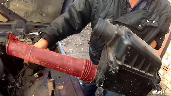 как установить шноркель