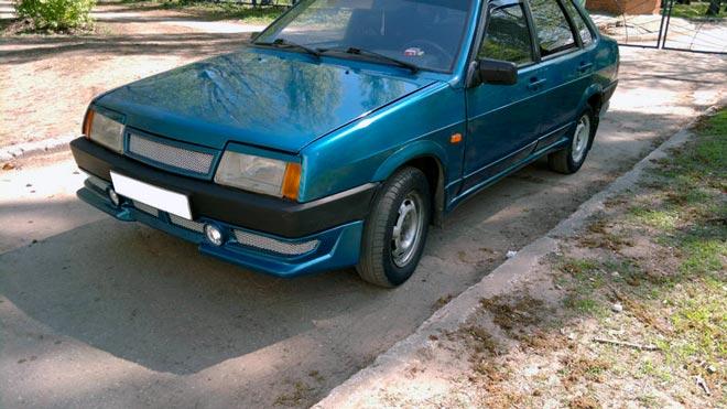 Тюнинг-бампера-ВАЗ2109