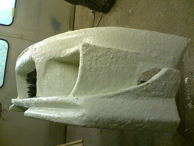bamper iz steklopoastika - Тюнингованные бампера на ваз 2109