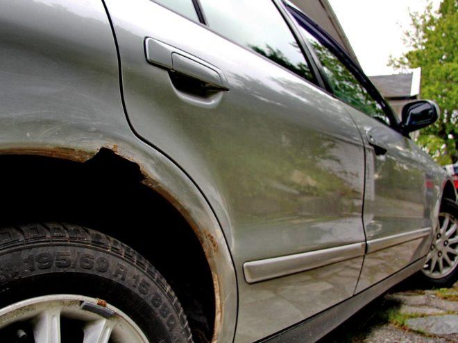 появление коррозии на авто