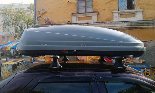 аэродинамический багажник