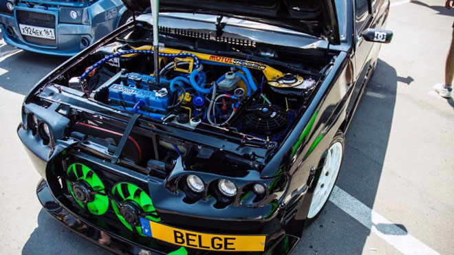 Двигатель тюнингованный 2114