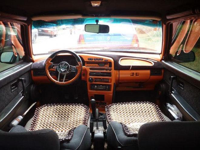 тюнингованный салон авто ВАЗ 2114